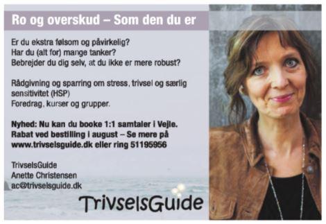 Annonce - samtaler - TrivselsGuide