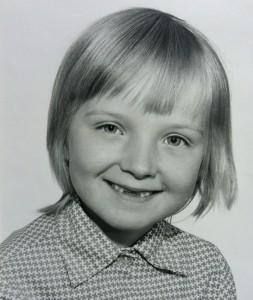 Barndomsbillede Anette Christensen