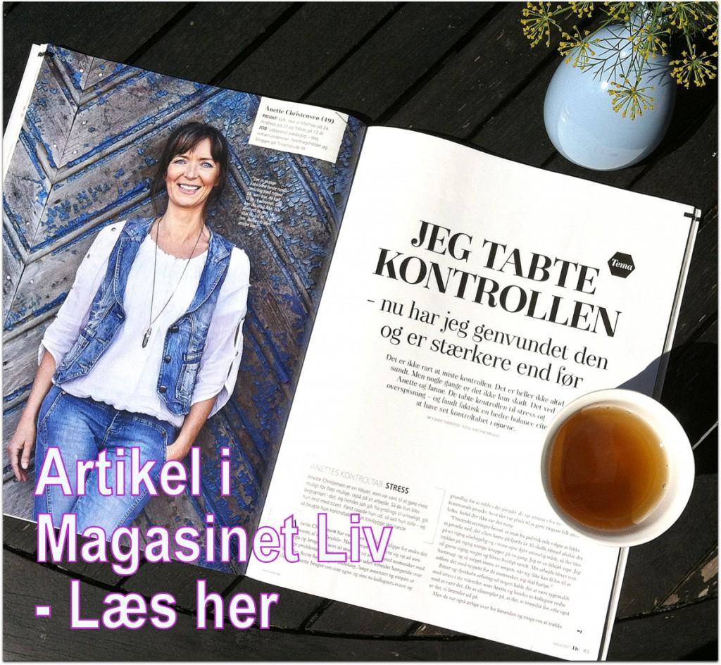 Artikel i Magasinet Liv - Læs her