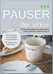 Pauser der virker - Gratis guide fra TrivselsGuide - Forside