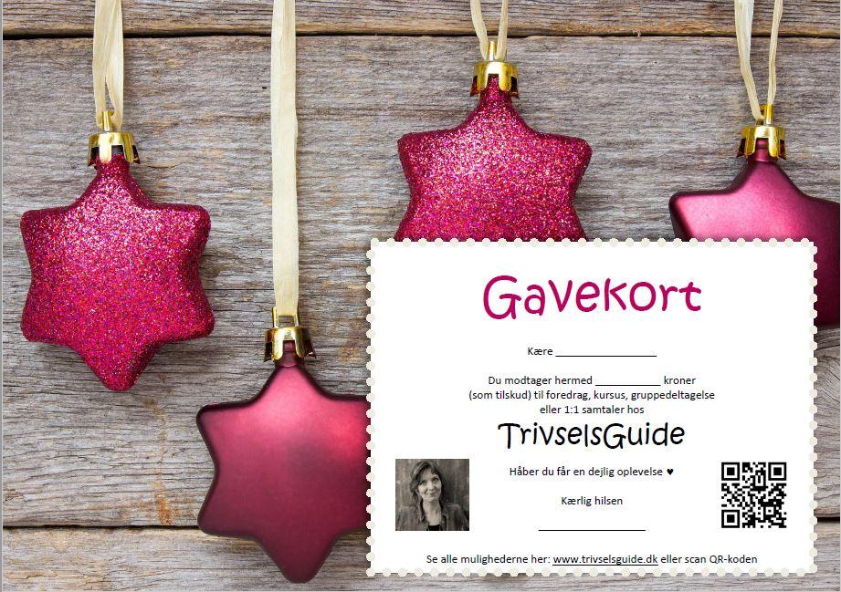Gavekort - TrivselsGuide